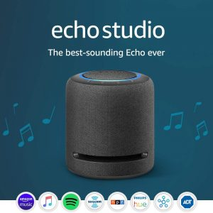 Echo Studio – Our Best-Sounding Smart Speaker – With Dolby Atmos and Alexa