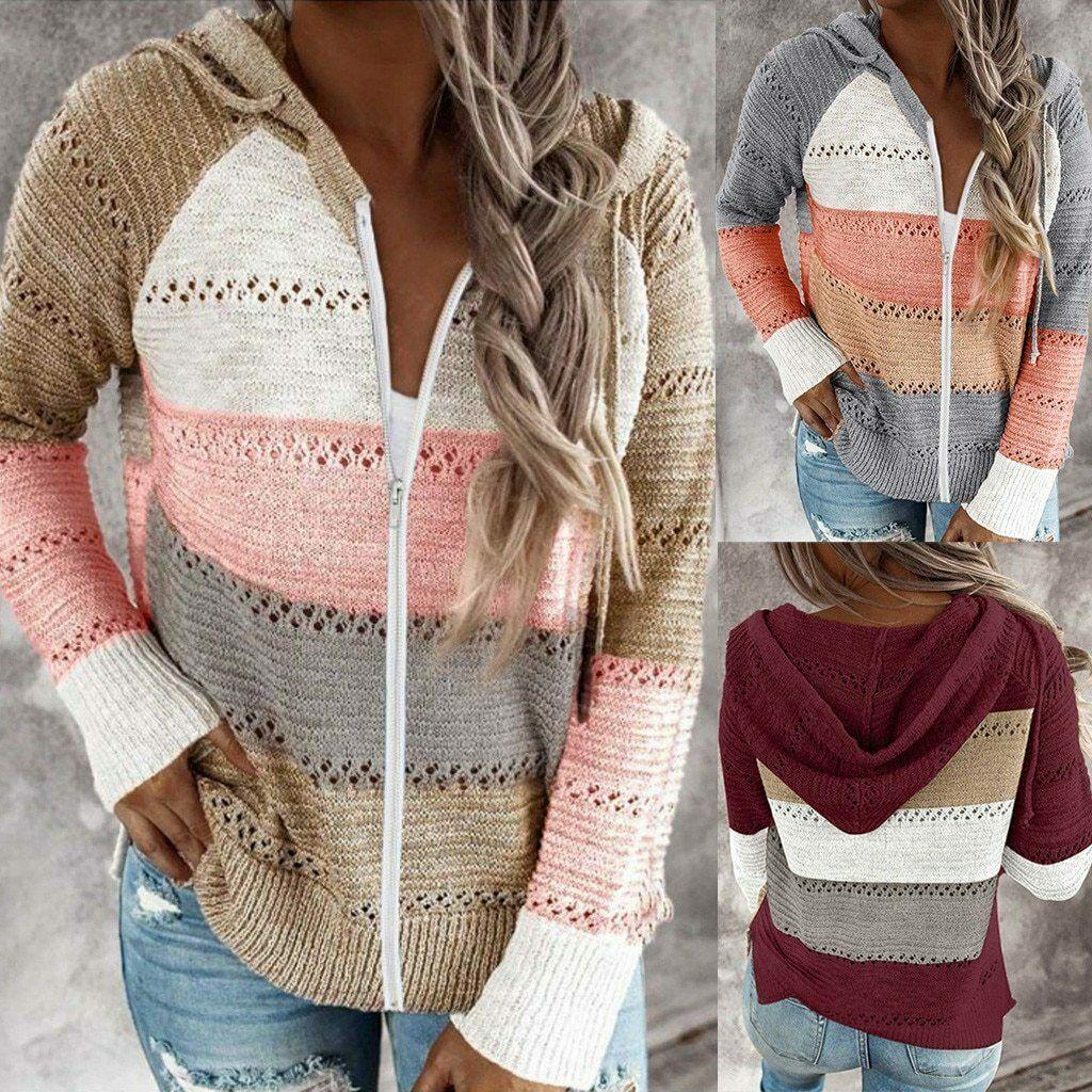 Fashion Blouse Women Casual Long Sleeve Hoodie