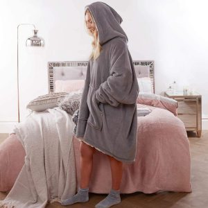 Warm Comfy Oversized Wearable Hooded Sweatshirt